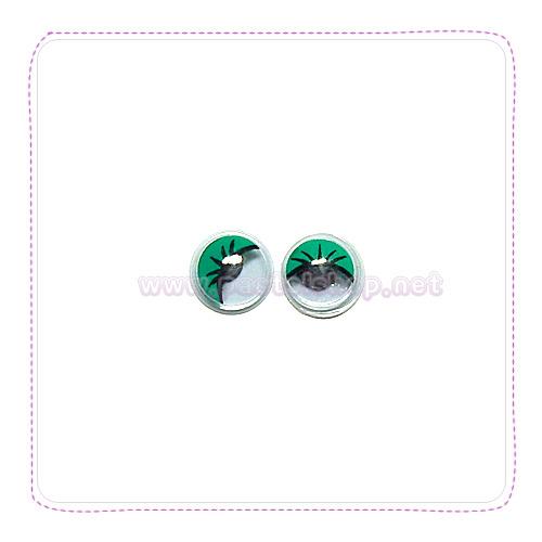 장식눈알(0.8CM 40개입)초록 G-07-117