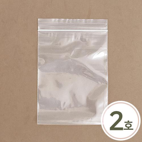 지퍼백2호 10*15cm(100장입) H-09-125