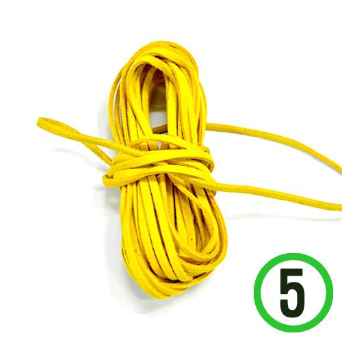 쎄무줄*노랑*1m (5개입) A-09-114