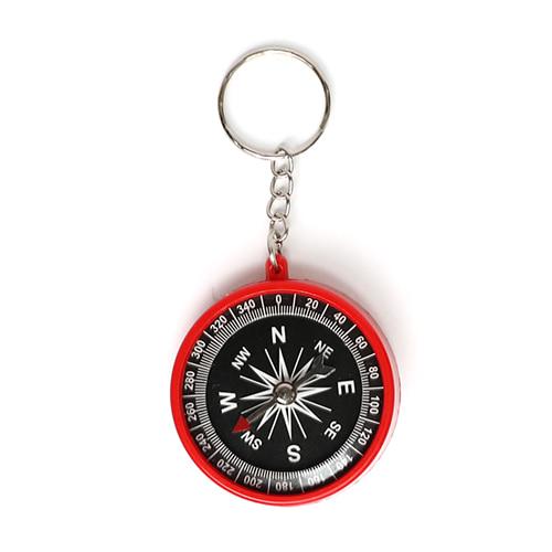 나침반 열쇠고리 (색상랜덤발송) 4.5x9cm  Q-01-108