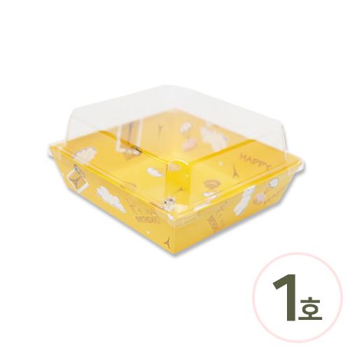투명케이스 1호*강아지 14.5x13x6.5cm (10개입) EX-08-02