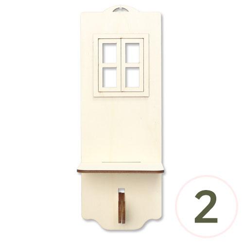 창문 1조 선반 11x30x9cm (2개입) L-10-211