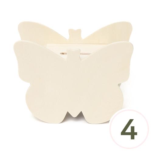 나비 저금통 11x8.5x4.8cm (4개입) U-10-104