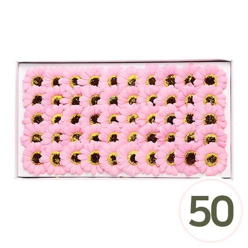 비누 거베라*핑크 5.5cm (50개입) A-00