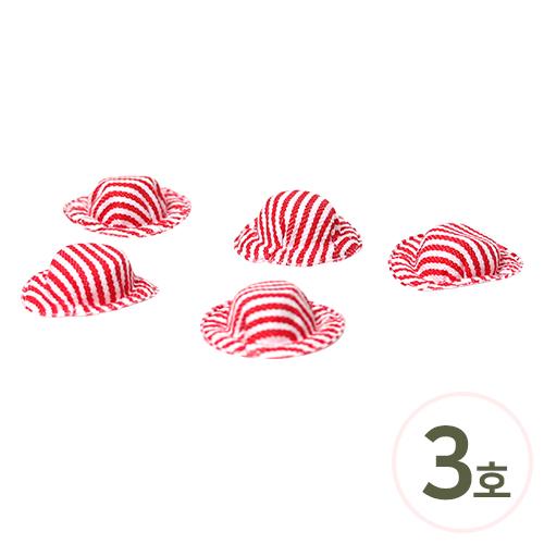 미니어쳐 모자*3호 42x15mm (10개입) K-02-125