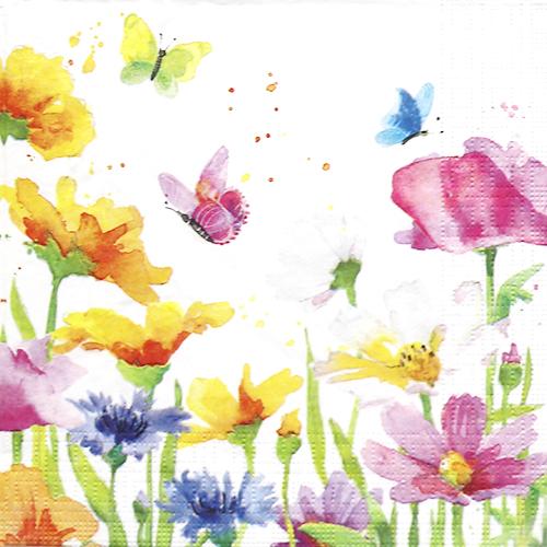 (냅스) 989 수입냅킨 33*33cm 1332783  Happy Spring