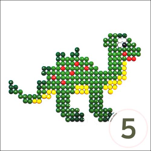 보석십자수 접착식*공룡 9x9cm (5개입)