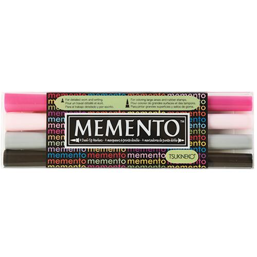 (냅스) [색상선택옵션]메멘토 마커 MEMENTO MARKER 4PCS SET