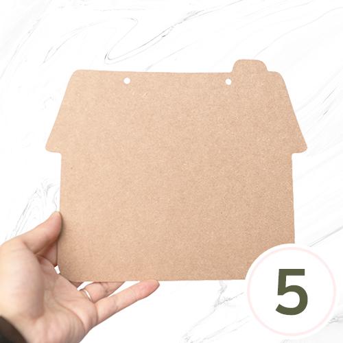 하우스데코판 23x20cm 두께 3mm (5개입) N-04-209