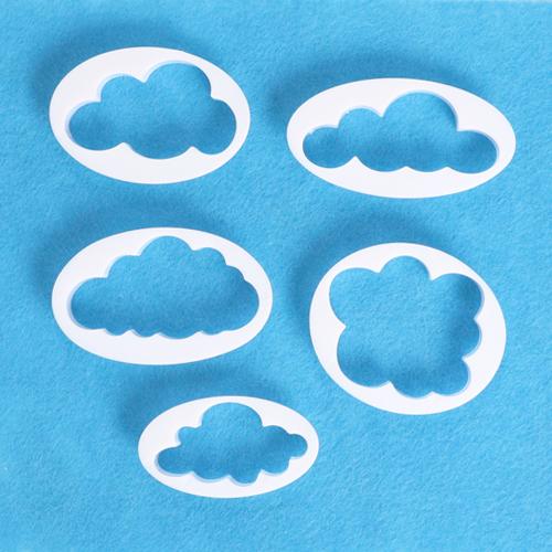 5종찍기틀*구름 N-09-311