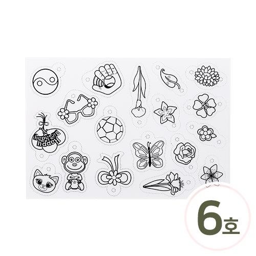 인쇄쉬링크플라스틱6호 29x20cm Z-00-006