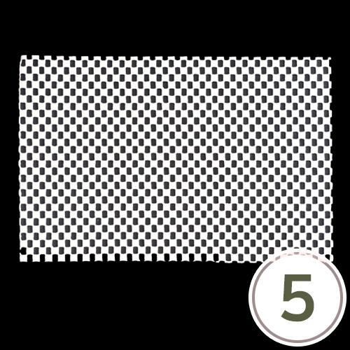 넌슬립 매트 13x20cm (5장입) O-02-207