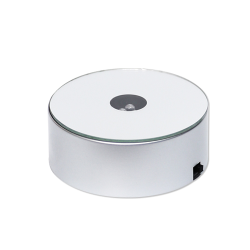 LED 3색 조명 거치대*원형 8x3cm N-07-209