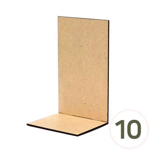 미니탁상데코판 10x9x16.5cm (10개입) S-07-110