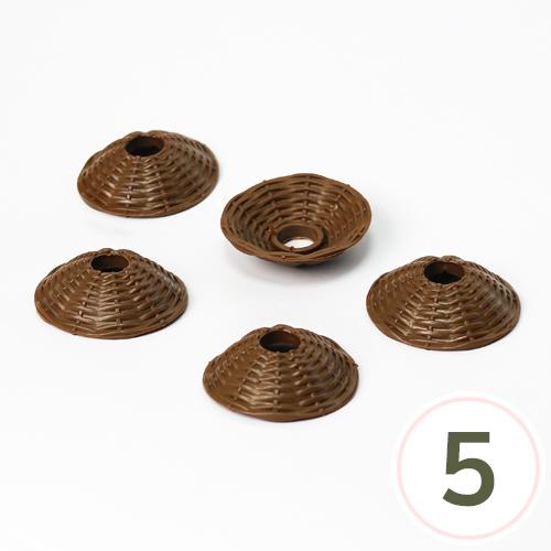 미니전구갓 6.5cm (5개입) Q-07-211