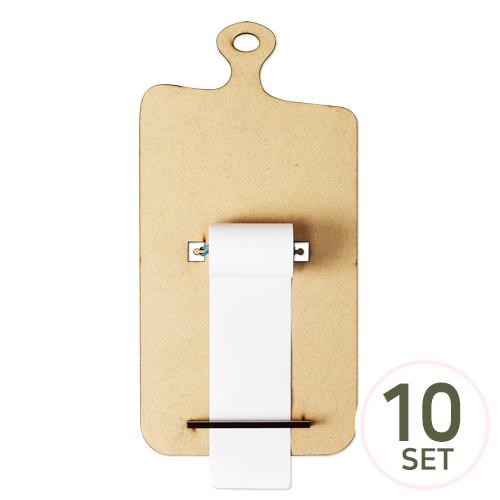 [세트상품] 도마 롤 메모판 롤지(A+B) 15x30cm (10개입) (고무줄 미포함)