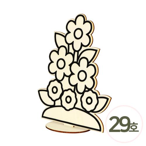 액자꾸미기 29호*꽃 (5개입)*18×22.5cm N-11-210