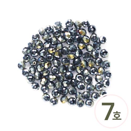 비즈구슬7호*6mm (약95알) EX-03