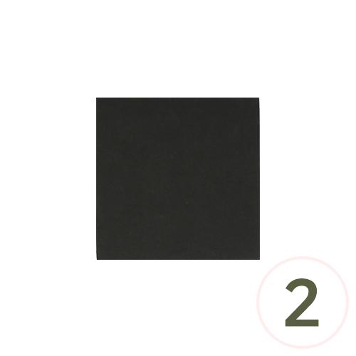 스트링 아트용 블랙보드 15x15cm (2개입) G-05-113