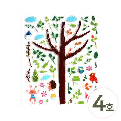 3D입체스티커 4호*여름* 14x22.5cm J-01-468