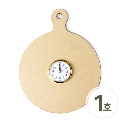 [세트상품]도마시계판 1호원형 (2개입) 28x36cm & 8cm*시계알*2개입 포함