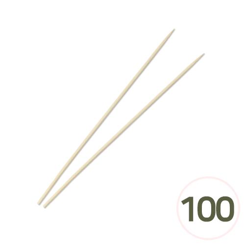 원목스틱*20cm 3mm (100개입) M-07-216