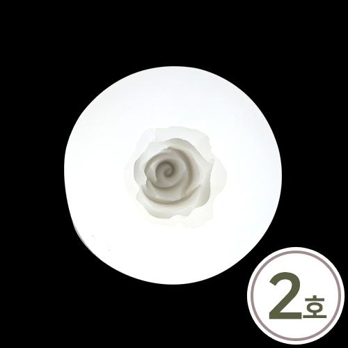 A-174 *수제몰드 장미 2호 6.7cm J-11-313