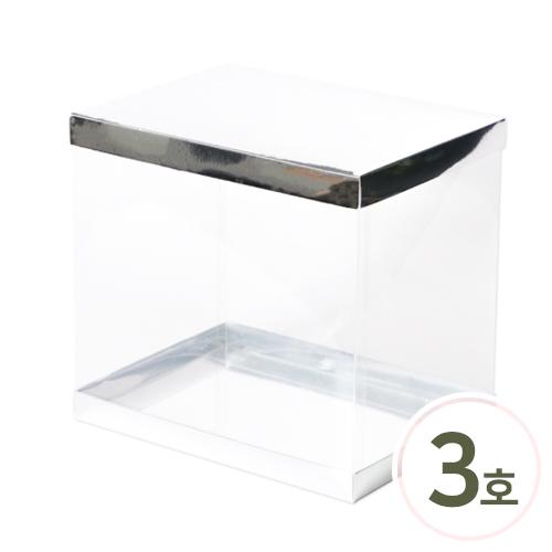 PVC 케이스*고급형*3호* 27x20x25cm (2세트입) O-05-110