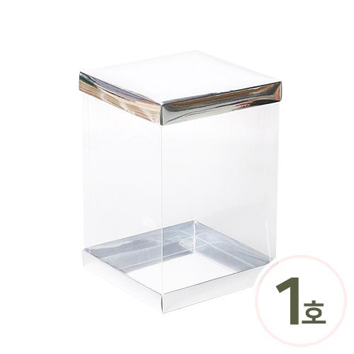 PVC 케이스*고급형*1호* 17x17x25cm (2세트입) O-06-112