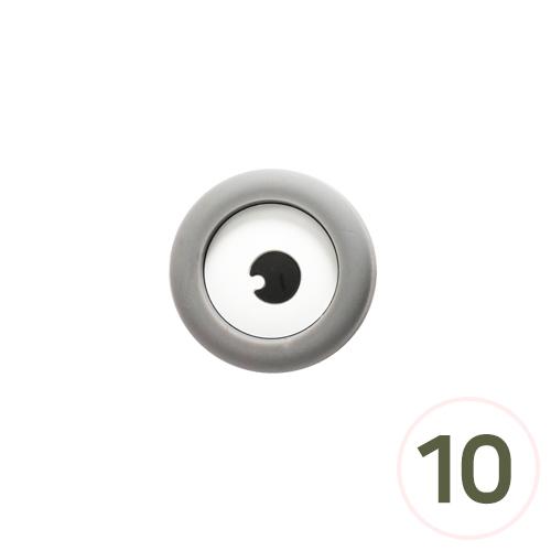 실리콘 눈 3.5x3.5cm(10개입) B-04-297