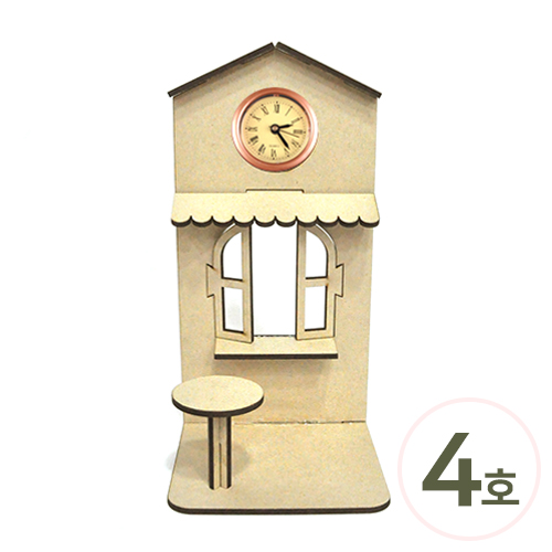 DIY 정원만들기 4호*10.5x21.5x9.2cm *시계알 별도구매(2개입) O-08-209