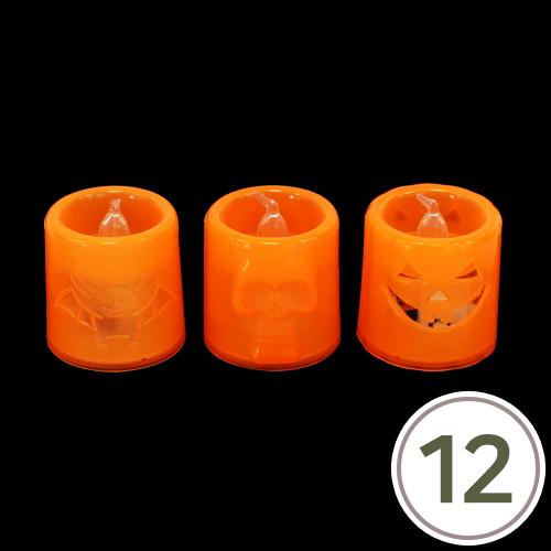 할로윈 유령등 5x5.5cm(12개입) Q-01-111