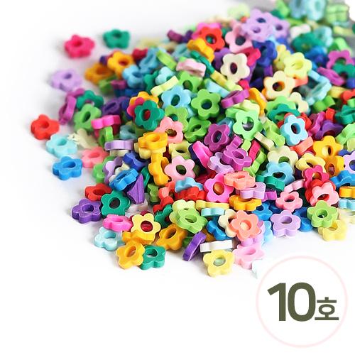 미니어처 토핑*10호*5mm*꽃(50g)  J-06-402