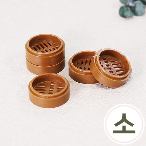 미니어처 찜기*대나무 채반1*소 27mm (5개입) J-05-453
