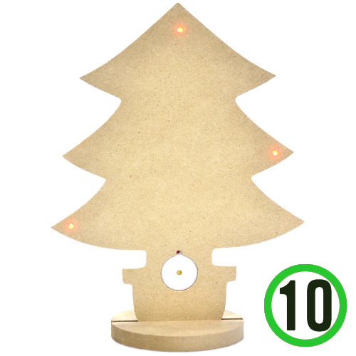 [세트상품]성탄나무 + LED 멜로디 20x26cm(10개입) R-05-103 , O-01-109