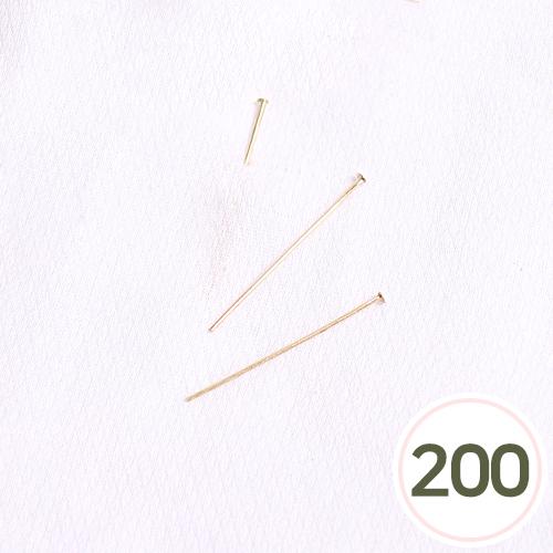 T자핀*금색35mm(약200개입) S-04-451