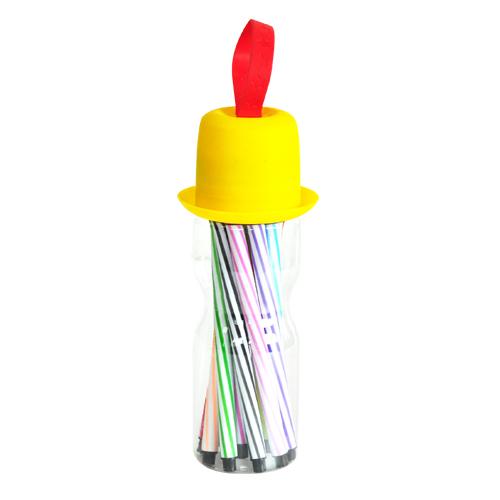 박스구매*모자 12색 싸인펜SET(140개)*1박스 P-03-02