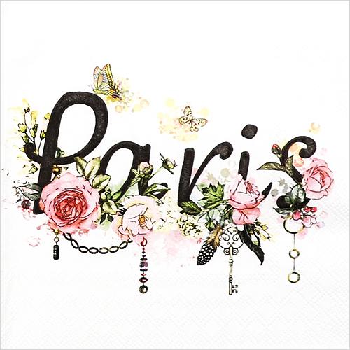 (냅스) 0121 수입냅킨 33*33cm PARIS
