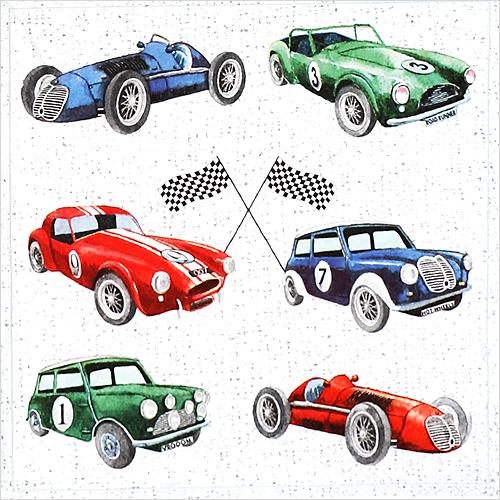 (냅스) 0132 수입냅킨 33*33cm CLASSIC CARS