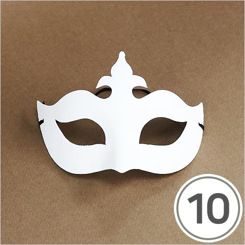 여왕 가면*고무줄 포함*(10개입) T-06-103