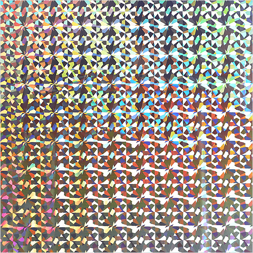 레인보우 필름지*은색* 32x200cm T-06-308