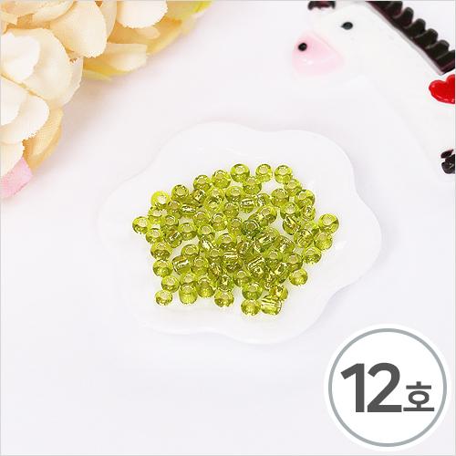 시드비즈 12호 초록(5g입)*2mm WX-10-202
