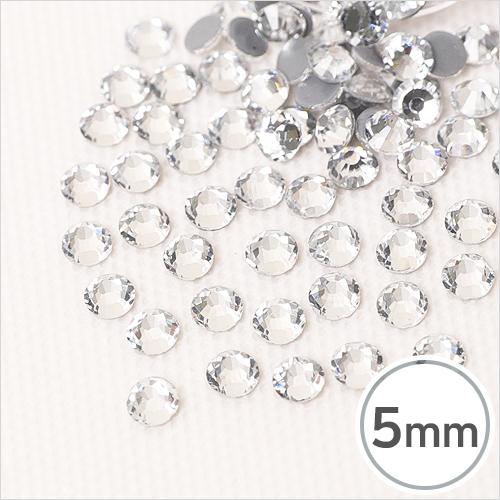 SS20-1 Crystal(크리스탈) 5mm(약100개입)*핫픽스 EX-03