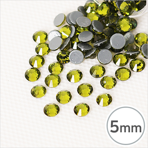 SS20-9 Olivine(올리빈) 5mm(약100개입)*핫픽스 EX-03