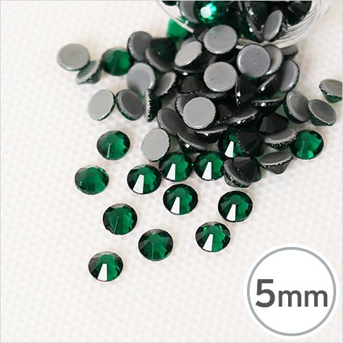 SS20-8 Emerald(에머랄드) 5mm(약100개입)*핫픽스 EX-03