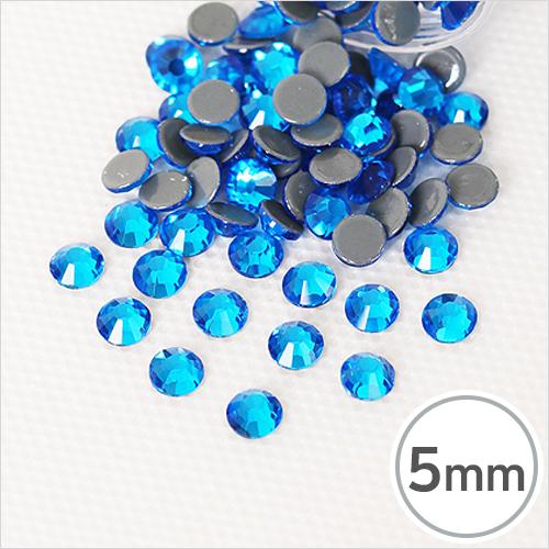 SS20-5 Capri Blue(카프리 블루) 5mm(약100개입)*핫픽스 EX-03