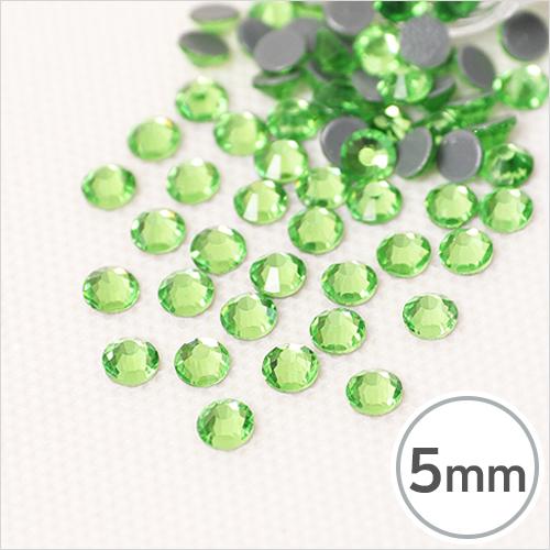 SS20-7 Light Peridot(라이트 페리도트) 5mm(약100개*핫픽스입) EX-03