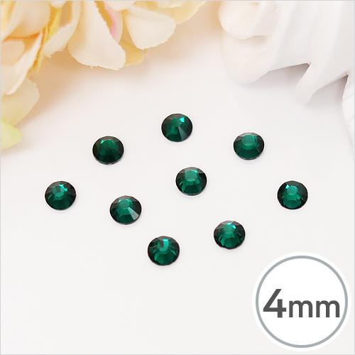 SS16-8 Emerald(에머랄드) 4mm(약200개입)*핫픽스 EX-03