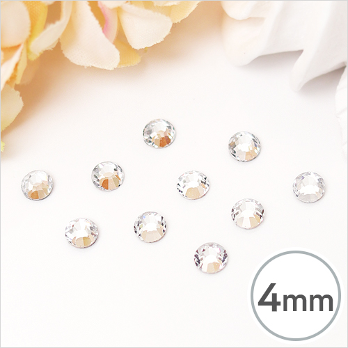 SS16-1 Crystal(크리스탈) 4mm(약200개입)*핫픽스 EX-03
