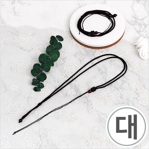 매듭목걸이줄*대*35cm(10개입) WX-10-128